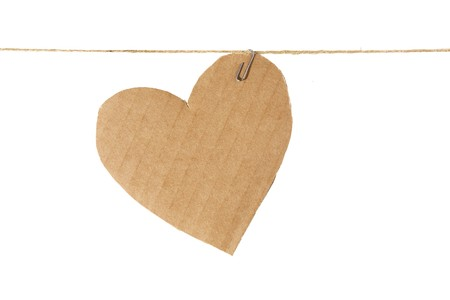 Paper heart photo