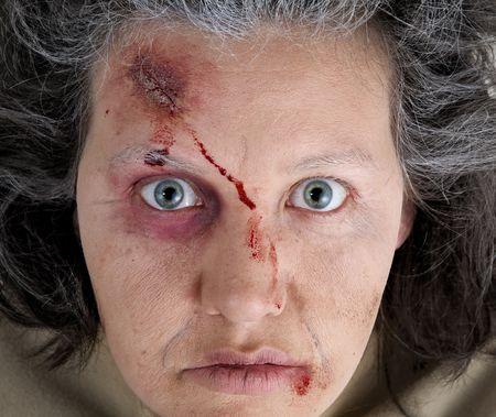 herida: Tema de Halloween