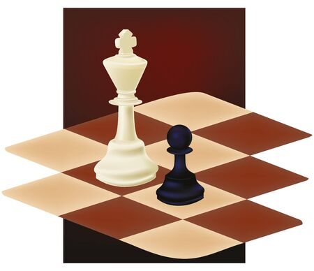 Playing chess Stock Vector - 14095542