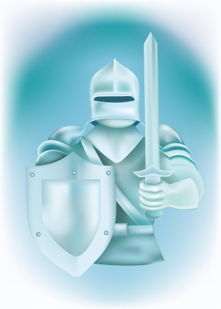 protective gloves: Knight in armor