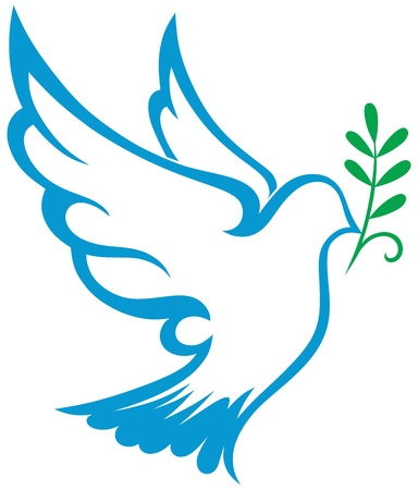 holy spirit:  dove symbol