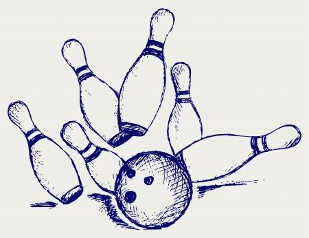 quilles: Croquis de bowling