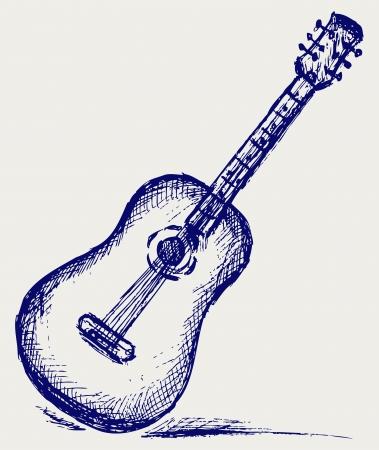 simbolos musicales: Guitarra clásica