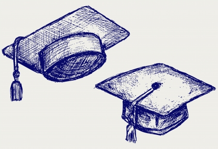 mortar hat: Graduation cap