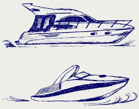 Luxury yacht Stock Vector - 15832063