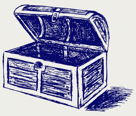 crate: Chest sketch Illustration