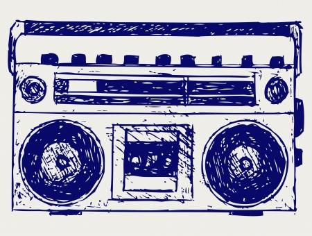 recorder: Recorder. Sketch