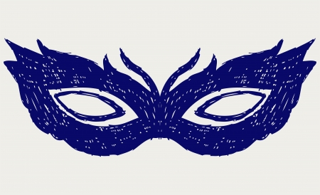 Mask for masquerade costumes