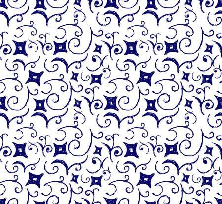 artistic flower: Seamless flower pattern