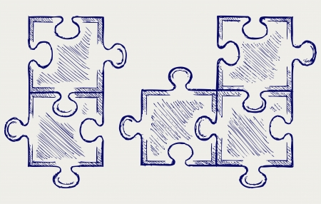 efficient: Puzzle sketch