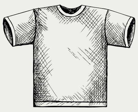 T-shirt design. Doodle style Illustration