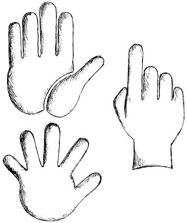 Hands. Vector Stock Vector - 15921587