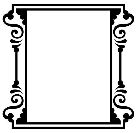 page border: Vintage design elements