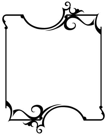 title page: Vintage design elements