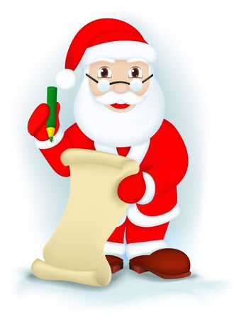 Santa Claus Stock Vector - 15937569