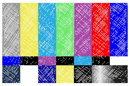 NTSC tv. Doodle style Stock Vector - 16381577
