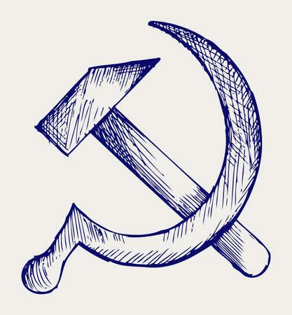 stalin: SSSR. Doodle style