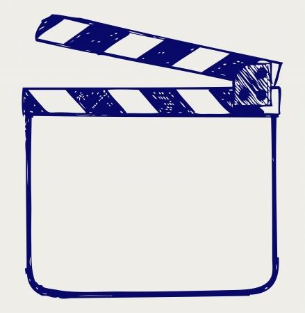 Płyta Clapper. szkic