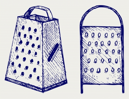 New metal grater  Doodle style