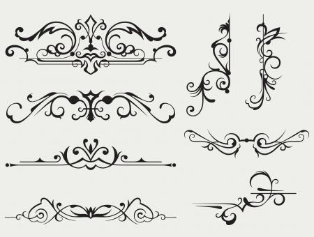arabesque: Elemento de dise�o caligr�fico y decoraci�n de p�gina