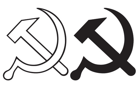 sickle: Sign of the hammer and sickle