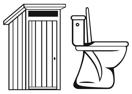 toilet seat: WC  Toilet isolated on white background