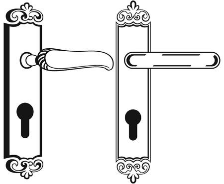 Door handle  Symbol Stock Vector - 20543981