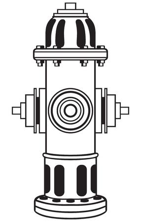 borne fontaine: Symbole de la bouche d'incendie