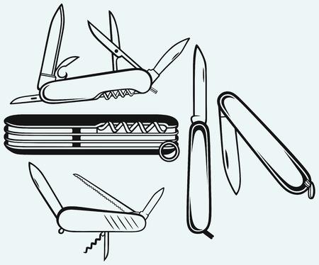 army knife Vector