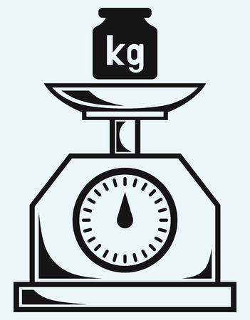 kilograms: Weight scale and weight kilogram