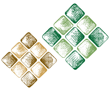 Muslim Ketupat. Doodle style