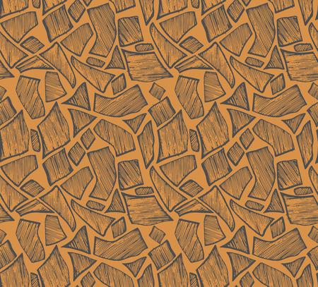 classic art: Seamless pattern. Doodle style Illustration