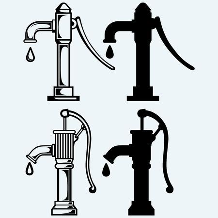 水ポンプ  イラスト・ベクター素材