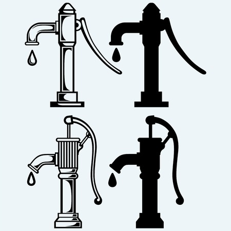 water pump Illustration
