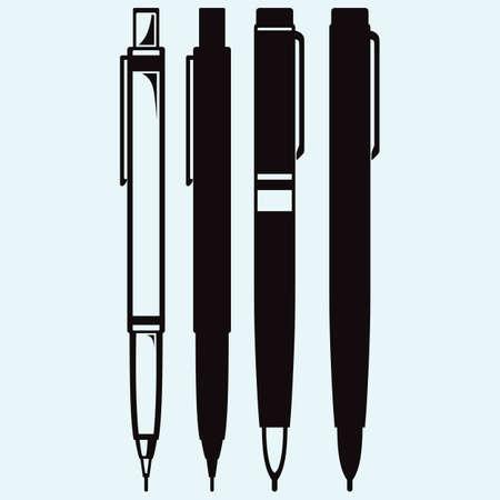 연필, 펜 및 만년필 아이콘 스톡 콘텐츠 - 63112041