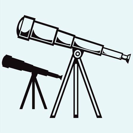 삼각대에 망원경 스톡 콘텐츠 - 63112044