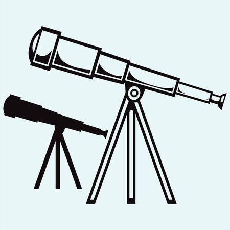eyepiece: Telescope in tripod