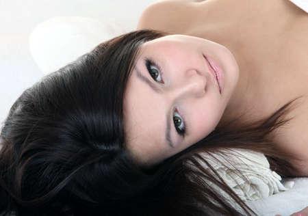 Beautiful young woman in spa. Health resort. Stock Photo - 4878945