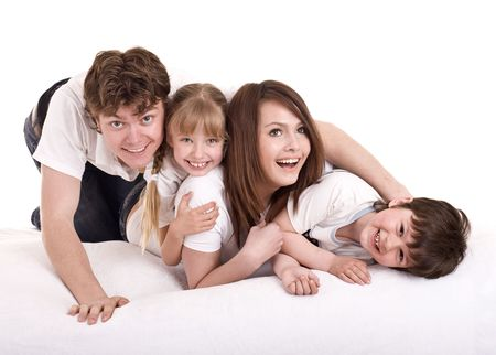 upbringing:  Happy family upbringing children. Isolated.