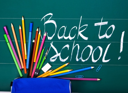 Back to school art supplies  photo