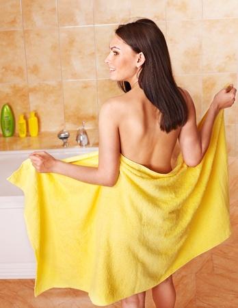 Young woman take bubble  bath. Stock Photo - 9899432