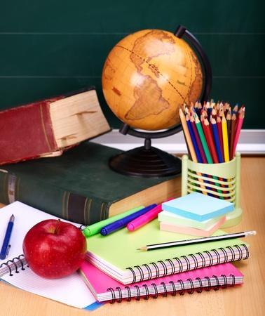 School supplies. Writing utensils. photo