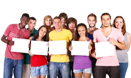 Group people  Isolated. Stock Photo - 10300345