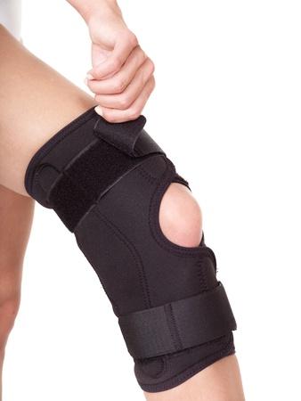 carpol: Trauma of knee in brace. Isolated.