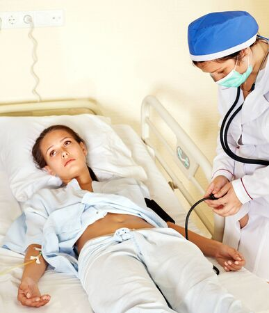 Measurement pressure blood of woman. Medicine. Stock Photo - 10778640