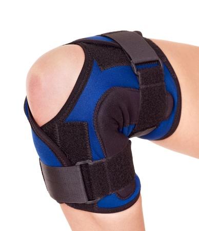 splint: Trauma de la rodilla en la llave. Aislado.