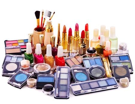 Decorative cosmetics for makeup. Close up. Stock Photo - 12755324
