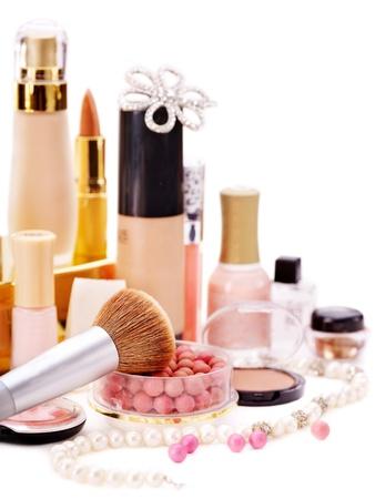 Decorative cosmetics for makeup. Close up. Stock Photo - 13237076