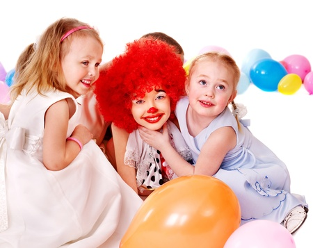 Child happy birthday party . Stock Photo - 13258743
