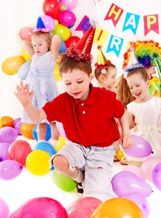 Child happy birthday party . Stock Photo - 13258982